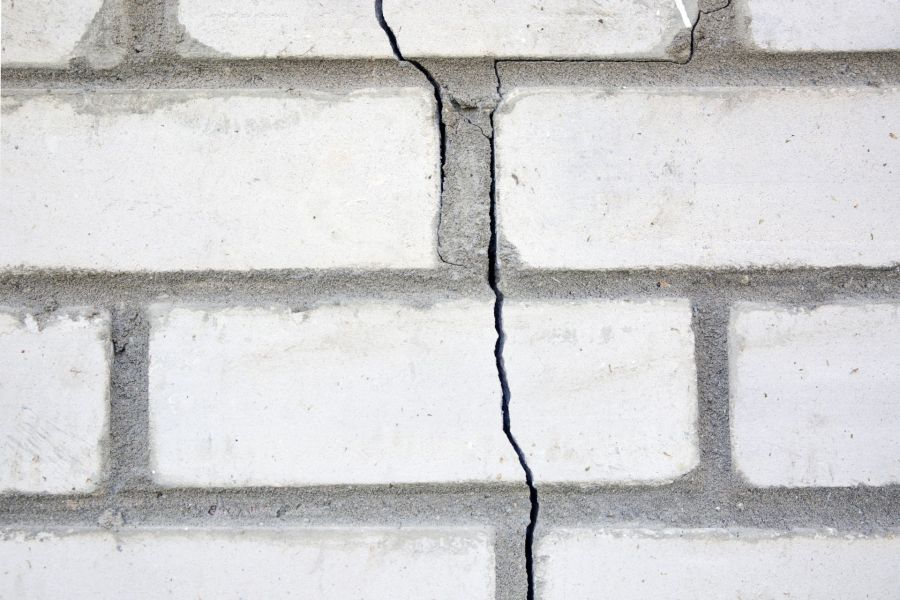 Foundation Crack Repair by Mulholland Painting