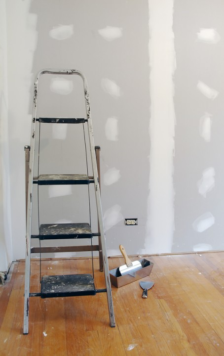 Drywall repair by Mulholland Painting.