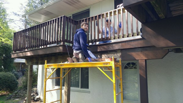 Deck Painting in Middletown, PA (1)
