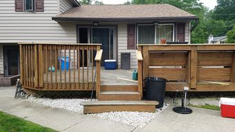 Before & After Deck Painting in Aston, PA (1)