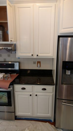 Before & After Cabinet Refinishing & Painting in Aston, PA (3)