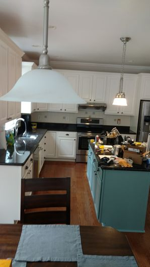 Before & After Cabinet Refinishing & Painting in Aston, PA (4)