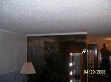 Before and After Ceiling Painting