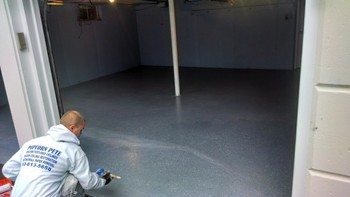 After Garage Floor Painting  near Philadelphia, PA